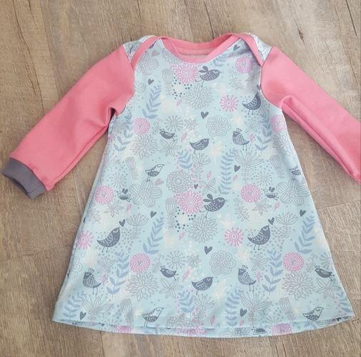 Makerist - Kleidchen für ein noch ungeborenes!  - Nähprojekte - 1