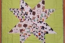 Makerist - Patchwork Babydecke für meinen Neffen - 1