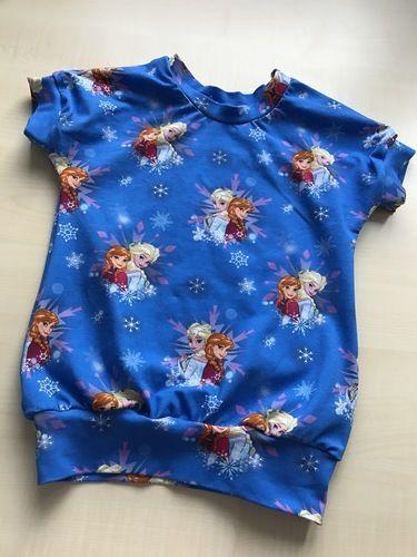 Makerist - Jersey T-Shirt mit Anna und Elsa - Nähprojekte - 1