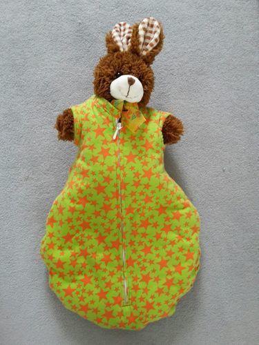 Makerist - Schlafsack für Fridas Teddy - Nähprojekte - 2
