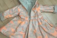 Makerist - Little anastasia Anleitung ,Regenjacke aus Jersey und beschichtete Baumwolle für meine tochter - 1
