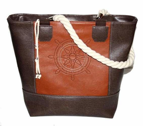 Makerist - Maritime Boat Bag mit Steuerrad bestickt - Textilgestaltung - 1