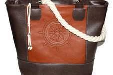 Makerist - Maritime Boat Bag mit Steuerrad bestickt - 1