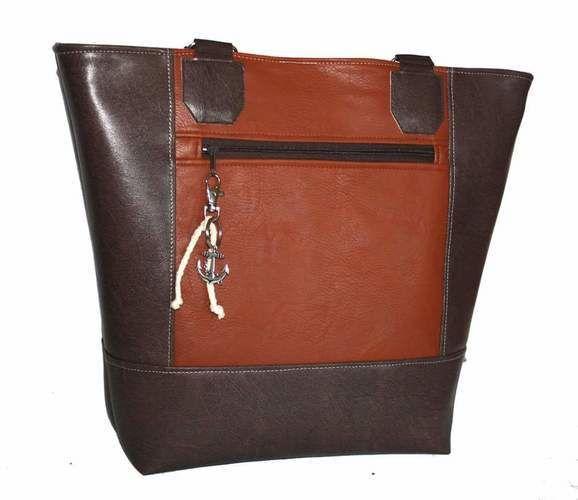 Makerist - Maritime Boat Bag mit Steuerrad bestickt - Textilgestaltung - 3