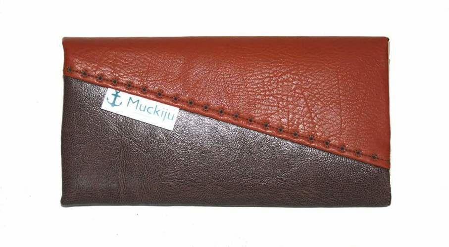 Makerist - Maritime Geldbörse Ruby mit gesticktem Steuerrad aus Kunstleder - Textilgestaltung - 3