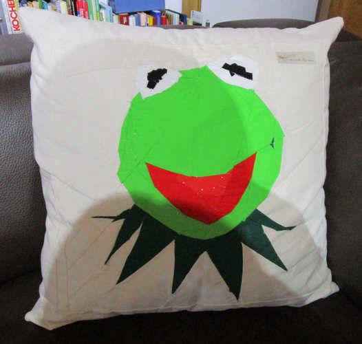 Makerist - Kermit, der Frosch - Patchwork-Projekte - 1