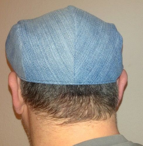 Makerist - Schiebermütze aus Jeans für meinen Mann  - Nähprojekte - 1