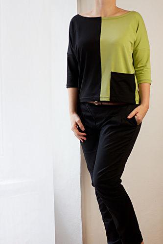 Makerist - Jersey Shirt mit Colorblocking - Nähprojekte - 2