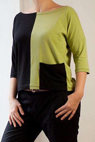Makerist - Jersey Shirt mit Colorblocking - Nähprojekte - 3