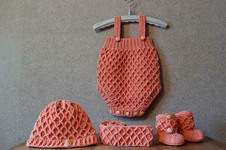Makerist - Babyset mit Diamantmuster - 1