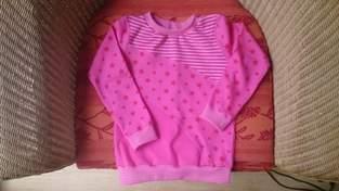 Makerist - Ein kleiner Traum in rosa, aus Jersey,  für mein Enkelchen Marie - 1