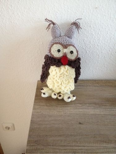 Makerist - Schneeeule Hedwig für meine Enkeltochter gehäkelt  - Häkelprojekte - 1