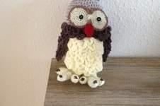 Makerist - Schneeeule Hedwig für meine Enkeltochter gehäkelt  - 1