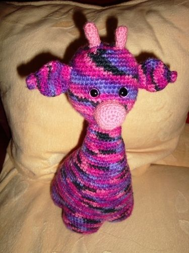Makerist - Eine Giraffe für unseren kleinen Schatz - Häkelprojekte - 1
