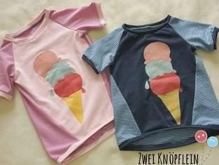 Makerist - Tee shirt mit ice cream - 1