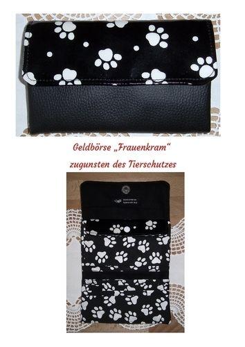 """Makerist - Geldbörse """"Frauenkram"""" zugunsten des Tierschutzes - Nähprojekte - 1"""