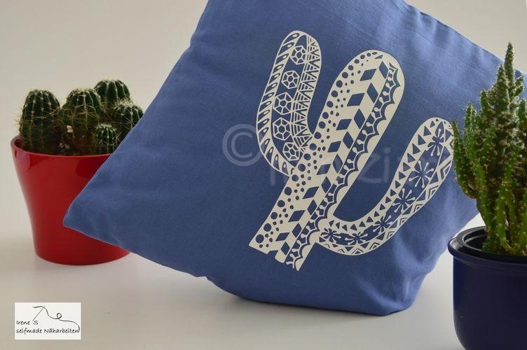Makerist - Plotterdateien Kakteen Tangle-Style dxf, svg, png von Min Ziari - Textilgestaltung - 3