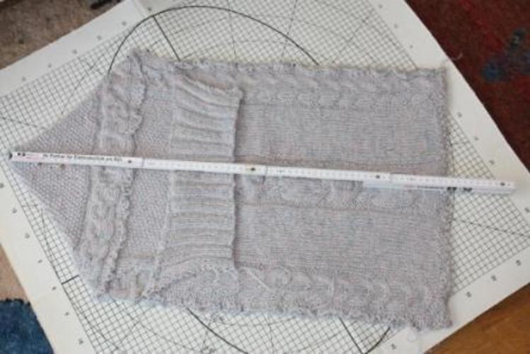 Makerist - Baby Schlafsack aus doppelt genommener  Strumpfwolle für mein Enkelkind  - Strickprojekte - 2