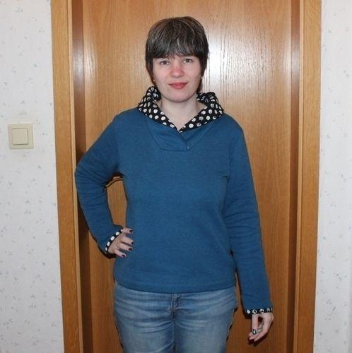 Makerist - Mrs. Klassik mit Pünktchenkragen - Nähprojekte - 1