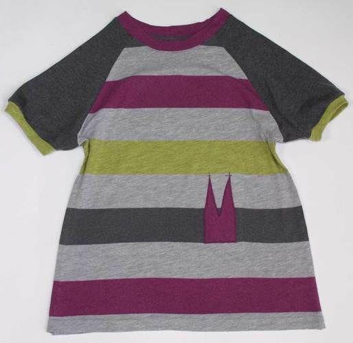 Makerist - Upcycling Mutters Blockstreifenshirt für Tochter - Nähprojekte - 1