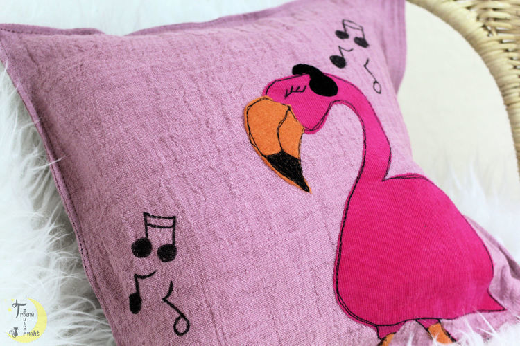 Makerist - Rocking Flamingo - Textilgestaltung - 1