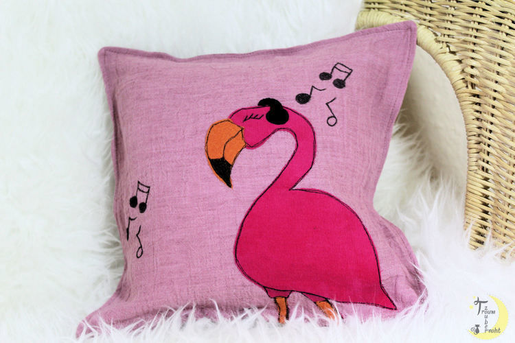 Makerist - Rocking Flamingo - Textilgestaltung - 2