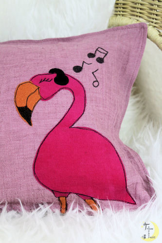 Makerist - Rocking Flamingo - Textilgestaltung - 3