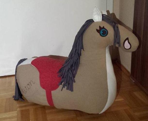 Makerist - Reittier Pferd von Frau Scheiner - Nähprojekte - 1