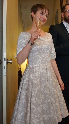 Makerist - Mein Kleid fürs Standesamt - Nähprojekte - 1
