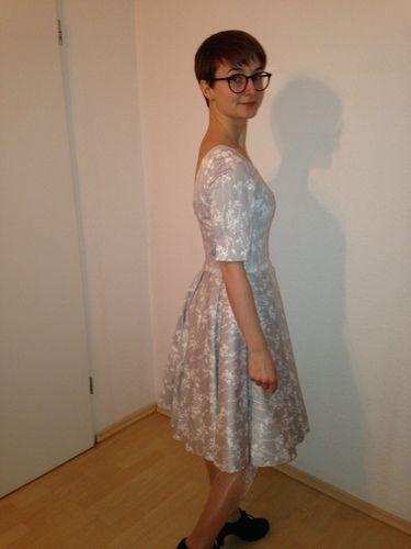 Makerist - Mein Kleid fürs Standesamt - Nähprojekte - 3