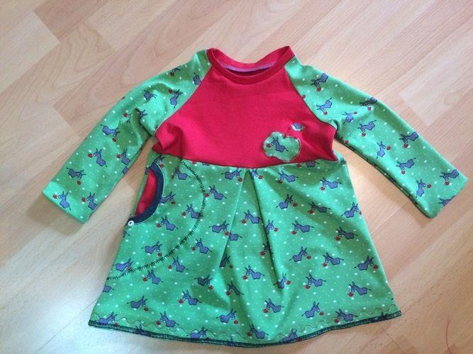 Makerist - Eselkleid aus Jersey für meine kleine Prinzessin  - Nähprojekte - 1