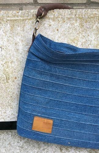 Makerist - Chobe Bag - Meine alte Jeans und neues Leder für meine neue Lieblingstasche! - Nähprojekte - 1