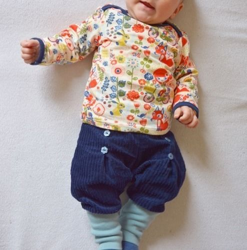 Makerist - Karlchen Knopf für Babymädchen - Nähprojekte - 1