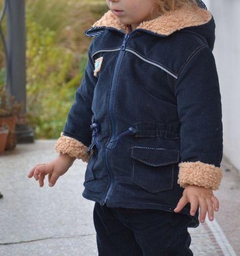 Makerist - Takki als Herbst/Winterjacke mit Teddyfutter - Nähprojekte - 1