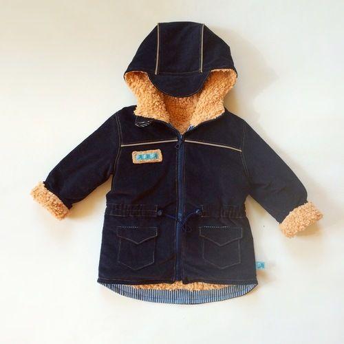 Makerist - Takki als Herbst/Winterjacke mit Teddyfutter - Nähprojekte - 2