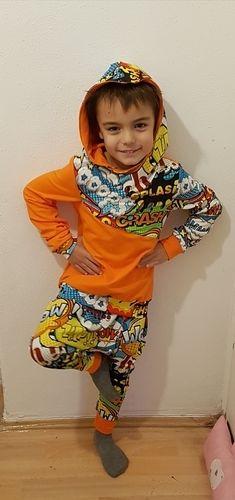 Makerist - Schnittmuster Issy. Für meinen Sohn aus Jersey ein Hip Hop Outfit genäht. - Nähprojekte - 1