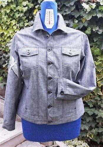 Makerist - Eine Jacke aus robustem Baumwollstoff für Mama - Nähprojekte - 1