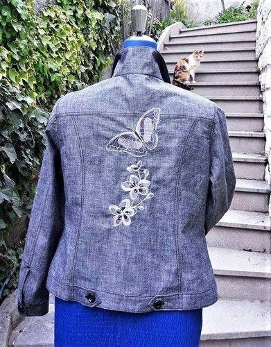 Makerist - Eine Jacke aus robustem Baumwollstoff für Mama - Nähprojekte - 2