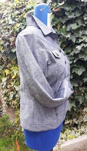 Makerist - Eine Jacke aus robustem Baumwollstoff für Mama - Nähprojekte - 3