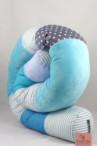 Makerist - Bettschlange Bettie - Nähprojekte - 1