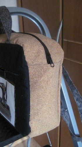 Makerist - Doctor's Bag Billy klein, Baumwollestoffe, Korkstoff, für mich - Nähprojekte - 2