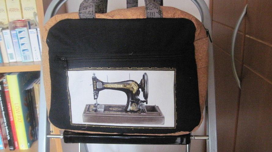 Makerist - Doctor's Bag Billy klein, Baumwollestoffe, Korkstoff, für mich - Nähprojekte - 3