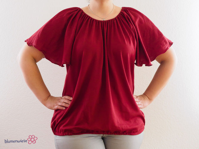 Makerist - Ein luftigleichtes Shirt für den Sommer - Nähprojekte - 2