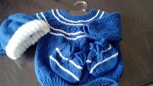 Makerist - brassière, chausson, bonnet en laine pour bébé - 1