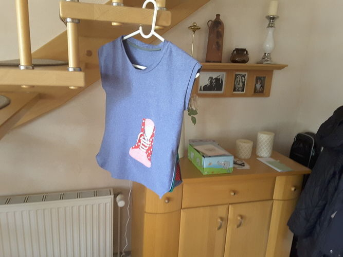 Makerist - Shirt für meine Enkeltochter - Nähprojekte - 2