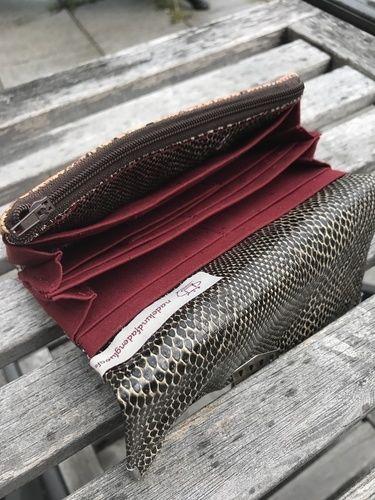 Makerist - SCHLANGENGELDBEUTEL FÜR MEINE STIEFMAMA <3 - Nähprojekte - 2
