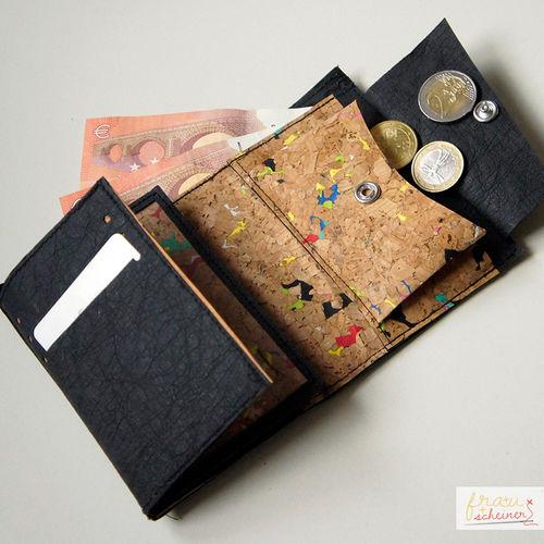 Makerist - Portemonnaie aus SnapPap Plus und Korkstoff - Nähprojekte - 1
