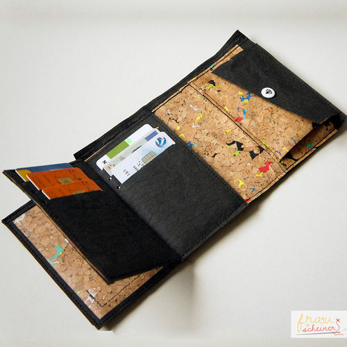 Makerist - Portemonnaie aus SnapPap Plus und Korkstoff - Nähprojekte - 2