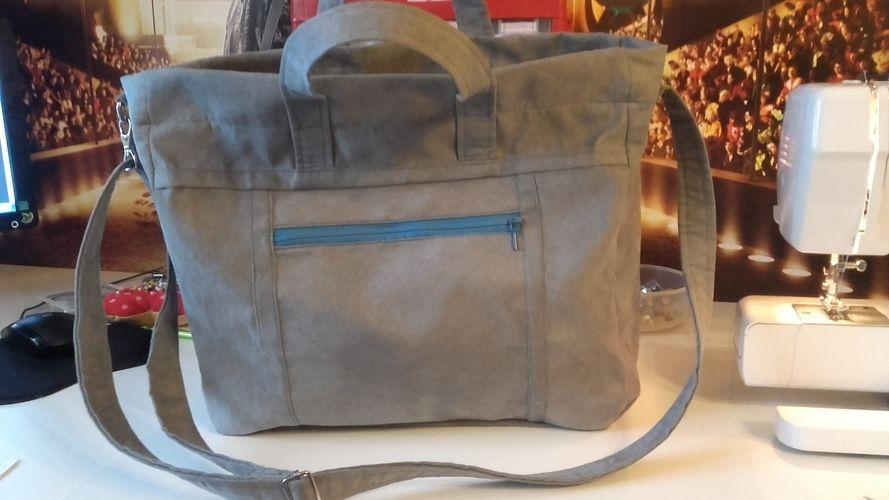 """Makerist - Tasche """"Big Elli"""" von shesmile für meine Tochter - Nähprojekte - 1"""