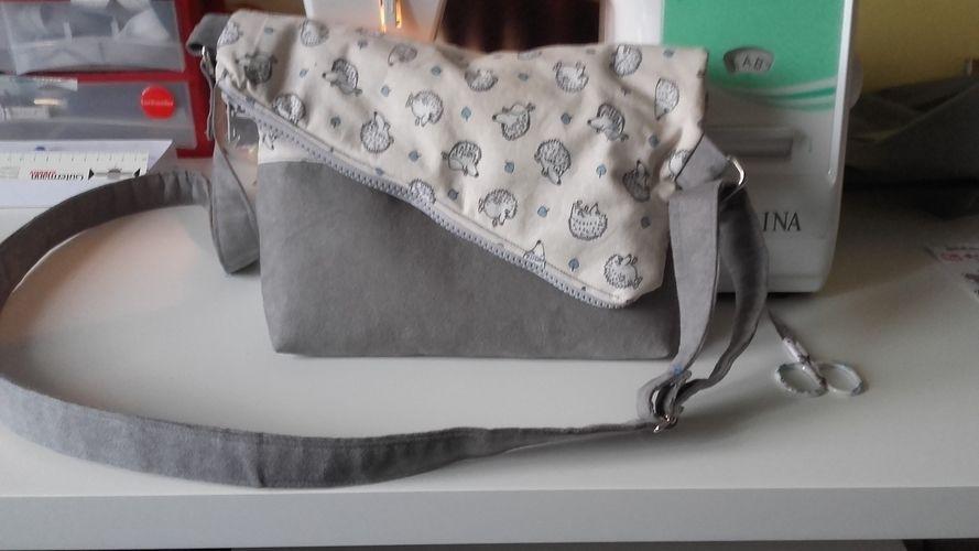 Makerist - Foldover Tasche - Nähprojekte - 2